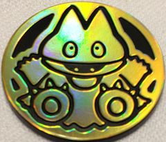 Gold Munchlax Collectable Coin