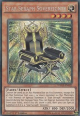 Star Seraph Sovereignty - WSUP-EN020 - Prismatic Secret Rare - 1st Edition