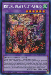 Ritual Beast Ulti-Apelio - THSF-EN028 - Secret Rare - Unlimited Edition