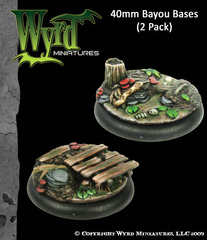 40mm Bayou Bases (2 Pack)