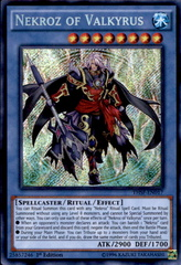Nekroz of Valkyrus - THSF-EN017 - Secret Rare - Unlimited Edition