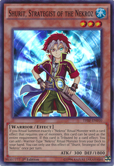 Shurit, Strategist of the Nekroz - THSF-EN010 - Super Rare - Unlimited Edition