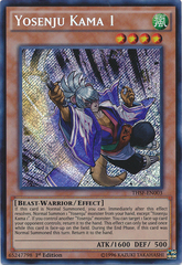 Yosenju Kama 1 - THSF-EN003 - Secret Rare - Unlimited Edition