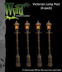Victorian Lamp Posts (4 Pack)
