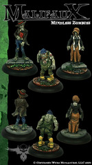 Mindless Zombies (3 Pack)