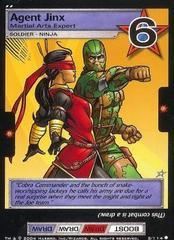 Agent Jinx, Martial Arts Expert