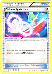 Gallade Spirit Link - 83/108 - Uncommon