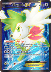 Shaymin-EX - 106/108 - Full Art Ultra Rare