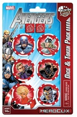 Avengers Assemble Dice and Token Pack - Captain America