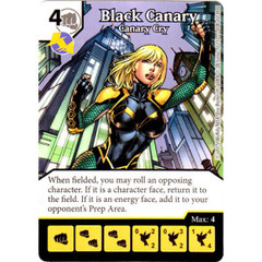 Black Canary - Canary Cry (Die & Card Combo Combo)