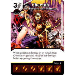 Cheetah - Dr. Barbara Ann Minerva (Die & Card Combo Combo)