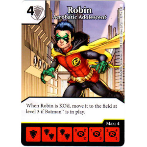 Robin - Acrobatic Adolescent (Die & Card Combo Combo)