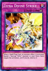 Zefra Divine Strike - CROS-EN072 - Super Rare - 1st Edition