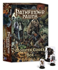 Pathfinder Pawns Monster Codex Box