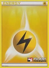 Lightning Energy - Promotional - Crosshatch Holo 2011 Play! Pokemon Promo