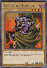 Archfiend Soldier - YS15-ENL02 - Common - 1st Edition