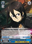 Confrontation with Death Gun, Kirito - SAO/SE23-E33 - C - Foil
