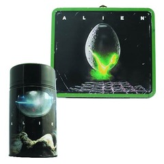 Alien Egg Lunch Box with Thermos