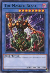 The Masked Beast - DPBC-EN031 - Rare - 1st Edition