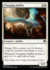 Charging Griffin - Foil