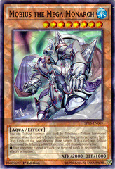 Mobius the Mega Monarch - SP15-EN009 - Shatterfoil - 1st Edition on Channel Fireball