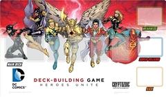 DC Comics Deck-building Game Playmat: Heroes Unite