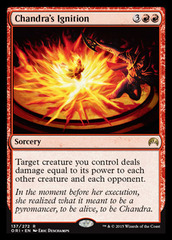 Chandra's Ignition - Foil