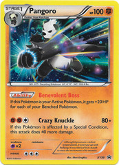 Pangoro - XY50 - Roaring Skies Three Pack Blister Promo