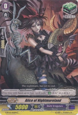 Alice of Nightmareland - G-BT03/102EN - C