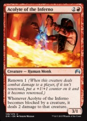 Acolyte of the Inferno - Foil on Channel Fireball