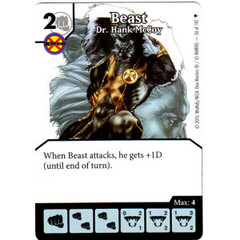 Beast - Dr. Hank McCoy (Die & Card Combo)