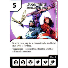 Assemble! - Basic Action Card (Card Only)