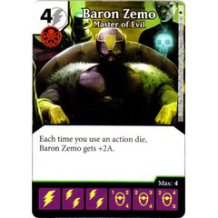 Baron Zemo - Master of Evil (Card Only)