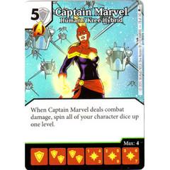 Captain Marvel - Human / Kree Hybrid (Card Only)
