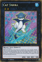 Cat Shark - PGL2-EN016 - Gold Secret Rare - Unlimited Edition on Channel Fireball