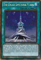 The Grand Spellbook Tower - PGL2-EN057 - Gold Rare - Unlimited Edition