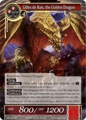 Gilles de Rais, the Golden Dragon - CMF-024 - SR - 2nd Printing