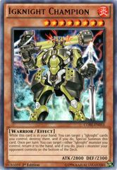 Igknight Champion - CORE-EN033 - Rare - 1st Edition