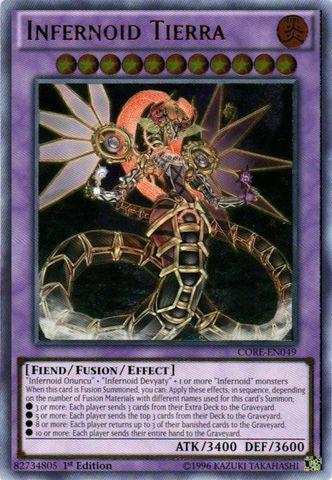 Infernoid Tierra - CORE-EN049 - Ultimate Rare - 1st Edition