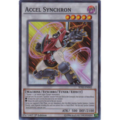 Accel Synchron - SDSE-EN042 - Super Rare - 1st Edition on Channel Fireball