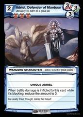 Adriel, Defender of Marduun