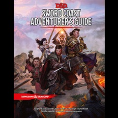 Dungeons and Dragons RPG 5th Edition: Sword Coast Adventurer's Guide