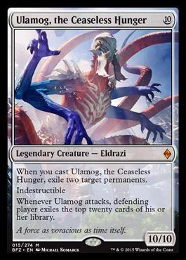 Ulamog, the Ceaseless Hunger - Foil