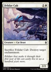 Felidar Cub - Foil on Channel Fireball
