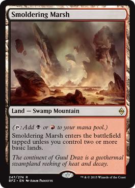 Smoldering Marsh
