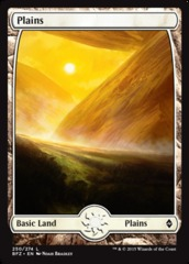 Plains - Foil (250)(BFZ)