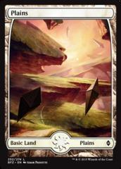 Plains - Foil (252)(BFZ)