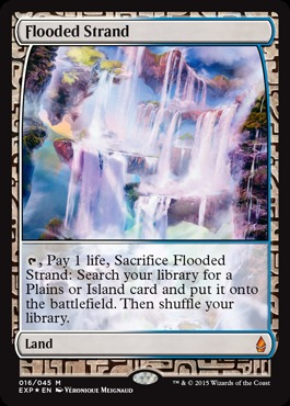 Flooded Strand (Masterpiece Foil)