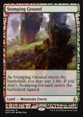 Stomping Ground - Foil (Zendikar Expedition: Battle for Zendikar Lands)
