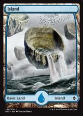 Island (258) - Foil (Full Art)